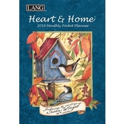 LANG Heart & Home 2018 Monthly Pocket Planner (18991003161)
