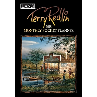 LANG Terry Redlin 2018 Monthly Pocket Planner (18991003183)