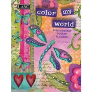 LANG Color My World 2018 Monthly Pocket Planner (18991003178)