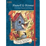 LANG Heart & Home 2018 Classic Engagement Planner (18991017017)