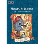LANG Heart & Home 2018 Monthly Planner (18991012098)