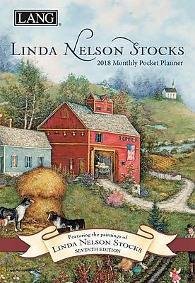 LANG Linda Nelson Stocks 2018 Monthly Pocket Planner (18991003179)