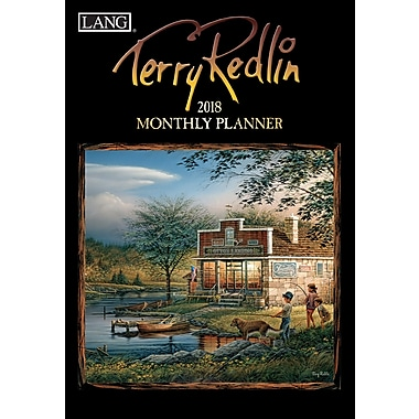 LANG Terry Redlin 2018 Monthly Planner (18991012117)