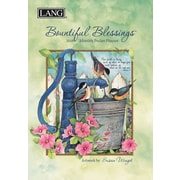 LANG Bountiful Blessings 2018 Monthly Pocket Planner (18991003158)