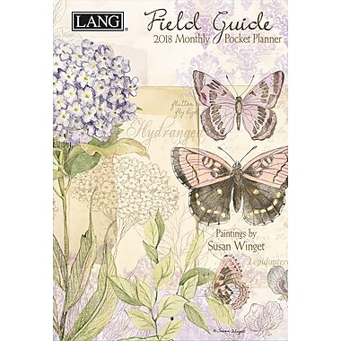 LANG Field Guide 2018 Monthly Pocket Planner (18991003184)