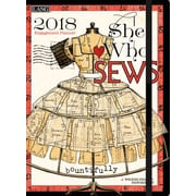 LANG She Who Sews 2018 Classic Engagement Planner (18991017025)