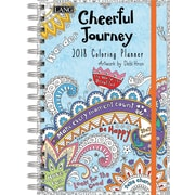 LANG Cheerful Journey 2018 Engagement Planner - Spiral (Coloring) (18991022021)