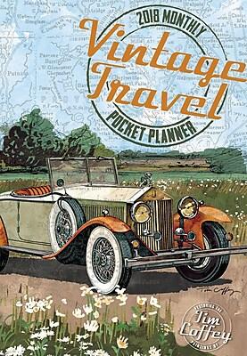 LANG Vintage Travel 2018 Monthly Pocket Planner (18991003169)