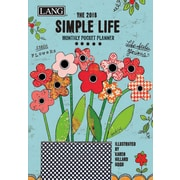 LANG Simple Life 2018 Monthly Pocket Planner (18991003166)