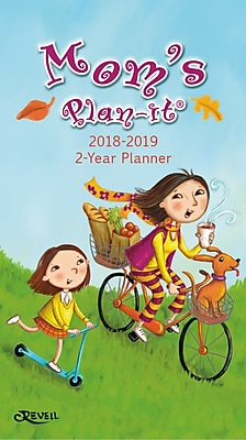 WSBL Mom's 2018 2-Year Planner (18996110000)