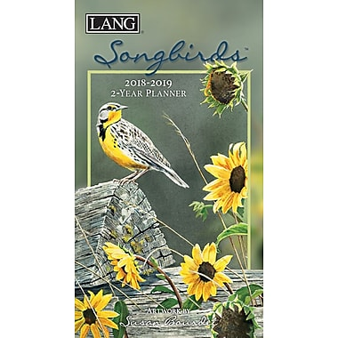 LANG Songbirds 2018 Two Year Planner (18991071077)