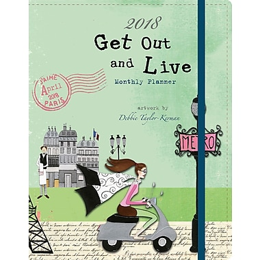 WSBL Get Out And Live 2018 Monthly Planner (18997050010)