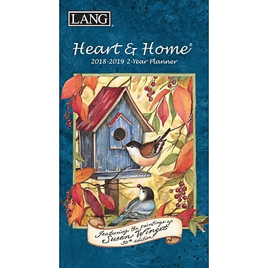 LANG Heart & Home 2018 Two Year Planner (18991071072)