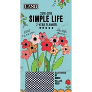 LANG Simple Life 2018 Two Year Planner (18991071076)