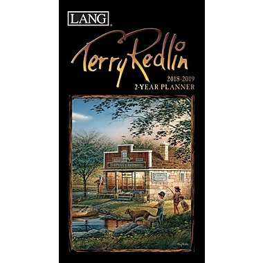 LANG Terry Redlin 2018 Two Year Planner (18991071095)
