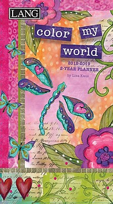 LANG Color My World 2018 Two Year Planner (18991071088)