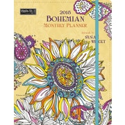 WSBL Bohemian Designs Coloring Monthly Planner (18996091003)