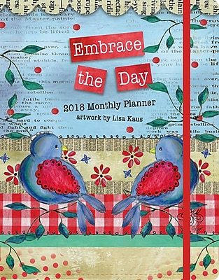WSBL Embrace The Day 2018 Monthly Planner (18997050019)