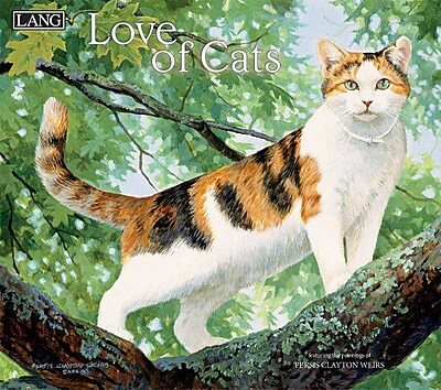 LANG Love Of Cats 2018 Wall Calendar (18991001926)