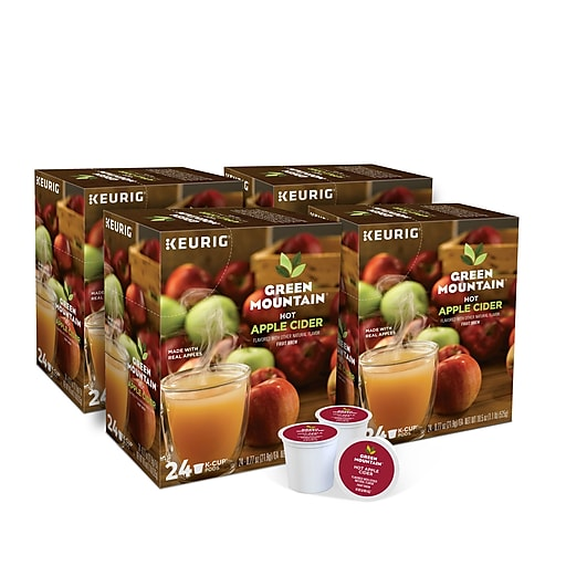 Green Mountain Hot Apple Cider, Keurig® K-Cup® Pods, 96/Carton (62011)