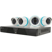 Ezviz Bn-1424a1 4-channel 1080p Ip System With 1tb Hard Drive & 4 Weatherproof 1080p Poe Bullet Ip Cameras