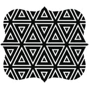 Fellowes 5919201 Designer Mouse Pad (geometric Triangles)
