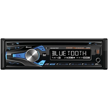 Dual Dc207bt Single-din In-dash Cd Am/fm Receiver With Bluetooth