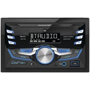 Dual Dxrm57bt Double-din In-dash Mechless Am/fm Receiver With Bluetooth