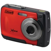 Coleman C20wp-r 18.0-megapixel C20wp Xtreme Hd Waterproof Digital Camera (red)