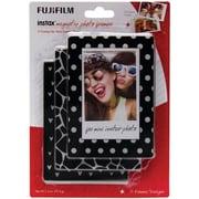 Fujifilm 600017131 Instax Magnetic Photo Frames, 3 Pk (black & White)