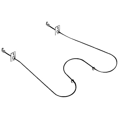 Bake Element, Whirlpool Broil or Bake//Broil Element EXACT REPLACEMENT PARTS ERB871 Bake