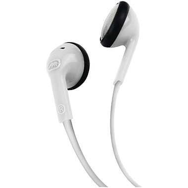 Ecko Unlimited Eku-dme-wht Dome Earbuds With Microphone (white)