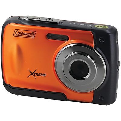 Coleman C20WP-O 18.0-Megapixel C20WP Xtreme HD Waterproof Digital Camera (Orange)