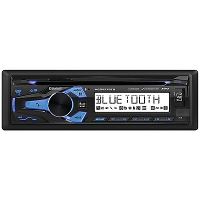 Dual Mcd237bt Marine Single-din In-dash Cd Receiver with Bluetooth