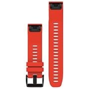 Garmin 010-12496-03 Fenix 5s 22mm Quickfit Silicone Watch Band (flame Red)