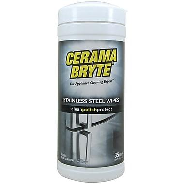 Cerama Bryte - Lingettes nettoyantes pour acier inoxydable 48635, 35/bt
