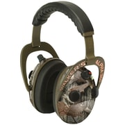 Walkers Game Ear Gwp-am360nxt Alpha Power Muff Quad 360 Camo Headphones With Microphone
