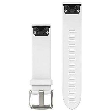 Garmin 010-12491-10 Fenix 5s 20mm Quickfit Silicone Watch Band (white)