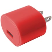 Iessentials Ie-ac1usb-rd 1-amp Usb Wall Charger (red)