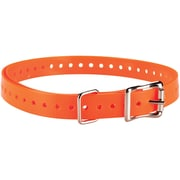 "Garmin 010-11870-03 Delta 3/4""-wide Collar Strap (orange)"