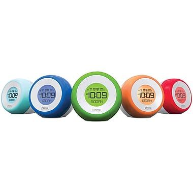 Ihome Im29sc Color-changing Dual Alarm Fm Clock Radio With Usb Charging