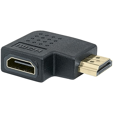 Manhattan 353489 Hdmi A-female To A-male Adapter (90deg Left Angle)