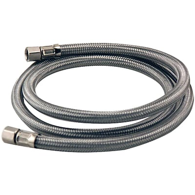 Certified Appliance Im48ss Braided Stainless Steel Ice Maker Connector (4ft)