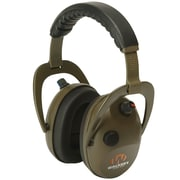 Walkers Game Ear Gwp-wrepmbn Alpha Power Muff D-max Green Headphones With Microphone