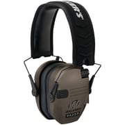 Walkers Game Ear Gwp-rsem-fde Razor Series Slim Shooter Electronic Folding Muff (flat Dark Earth)