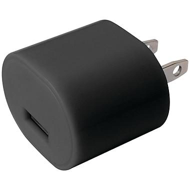 iEssentials - Chargeur mural USB de 1 A, noir