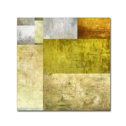 "Trademark Fine Art Michelle Calkins 'Neutral Study 1.0' 14"" x 14"" Canvas Stretched (190836074389)"
