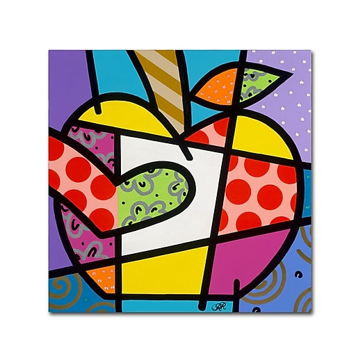 "Trademark Fine Art Roberto Rafael 'Big Apple I' 14"" x 14"" Canvas Stretched (190836278862)"