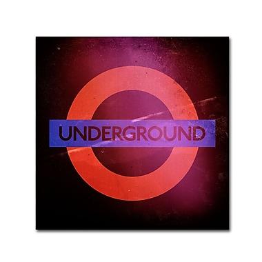 Trademark Fine Art Philippe Hugonnard 'Subway City Art London' 14