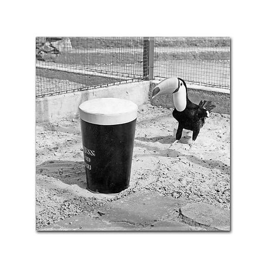 """Trademark Fine Art Guinness Brewery 'Guinness XVII' 14"""" x 14"""" Wall Art (190836245673)"""